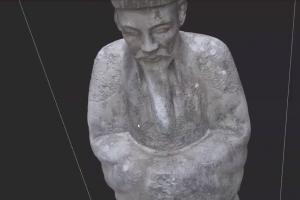 Phương pháp Scan 3D phục vụ nghiên cứu cổ phục