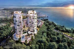 ẢNH DIỄN HOẠ 3D DỰ ÁN PHOENIX LEGEND HA LONG BAY HOTEL AND RESINDENCES